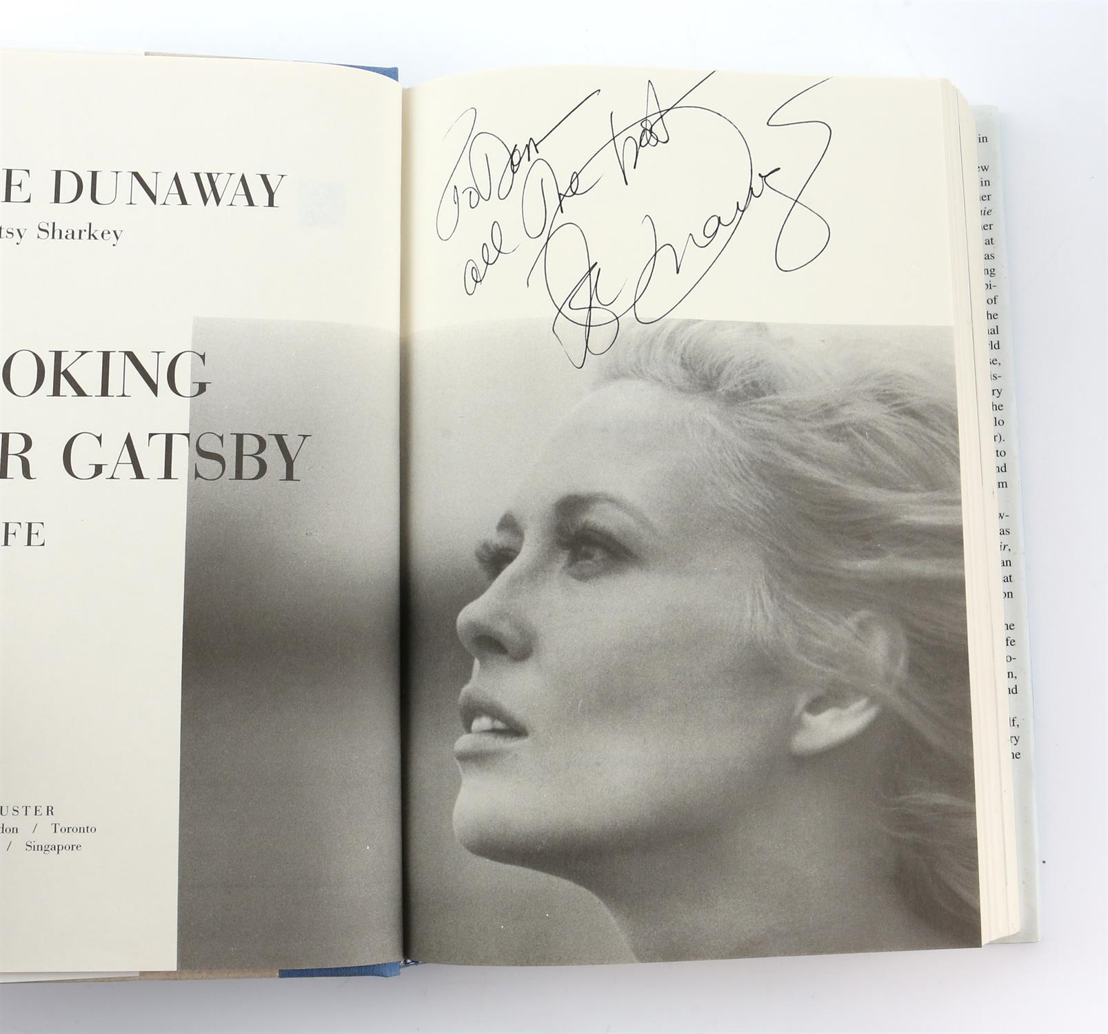 9 autographed books signed by Lauren Bacall, Richard Todd, Michael Palin, Leslie Caron, - Image 7 of 10
