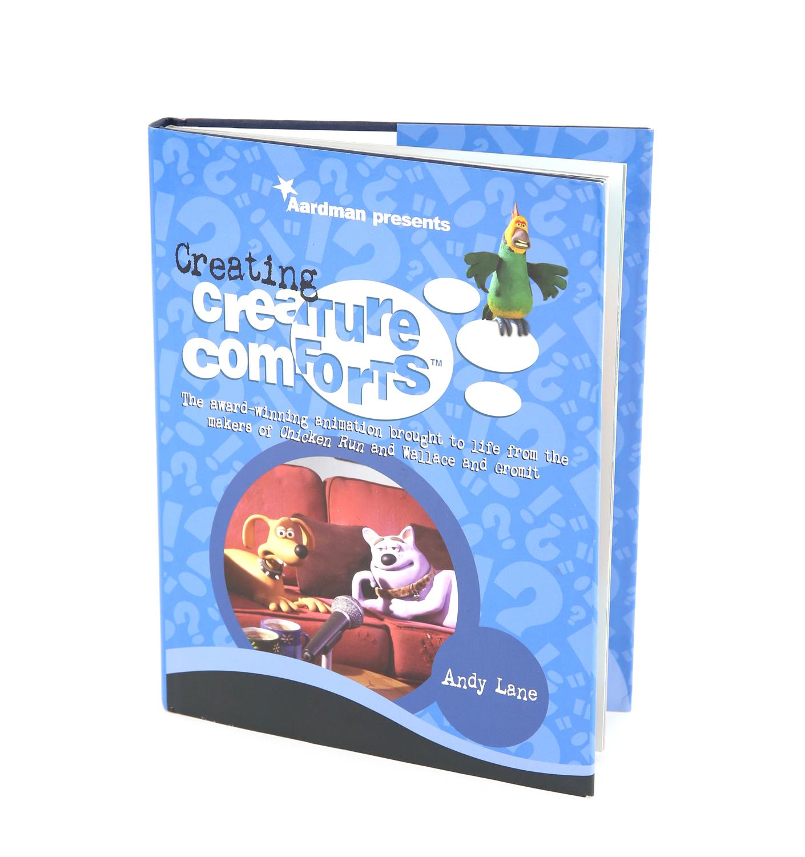 Creature Comforts - Aardman Animations - 'Creating Creature Comforts' - 2003 - Hardback book signed - Image 2 of 3