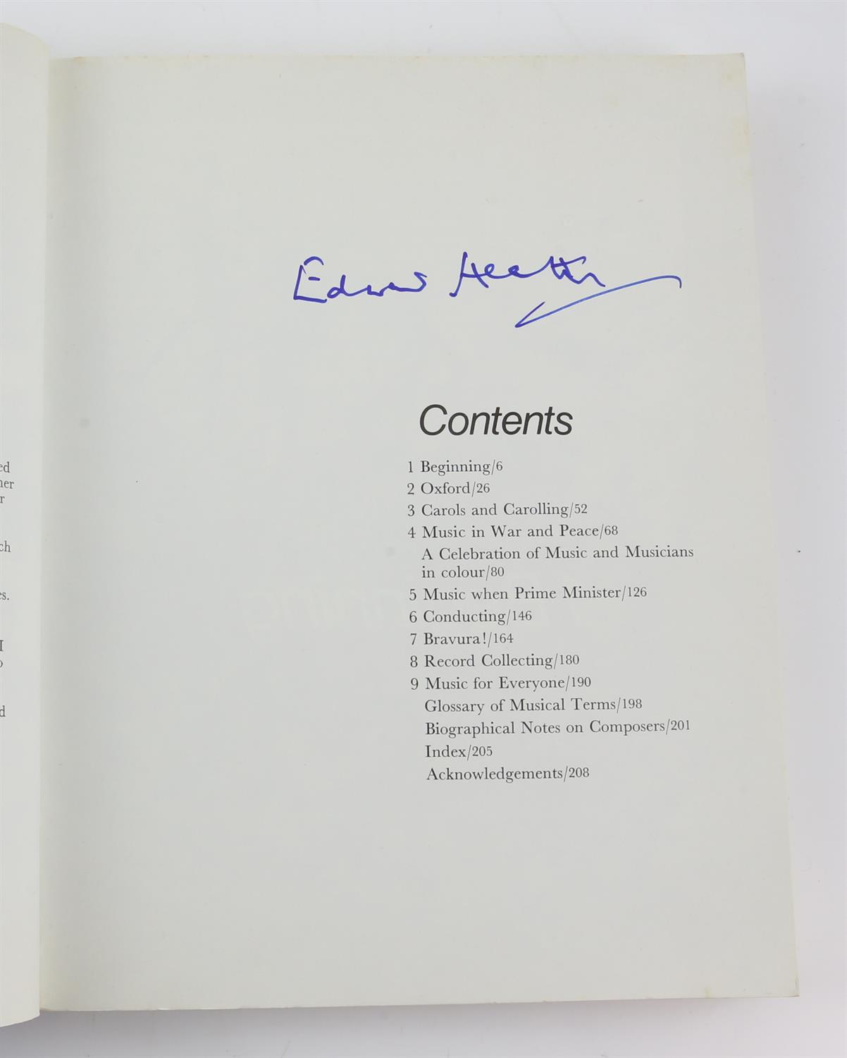9 autographed books signed by Lauren Bacall, Richard Todd, Michael Palin, Leslie Caron, - Image 10 of 10