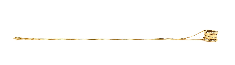 Bvlgari B.Zero1 small round pendant, in 18 ct yellow gold, marked Made in Italy 750 with Bvlgari - Image 4 of 5