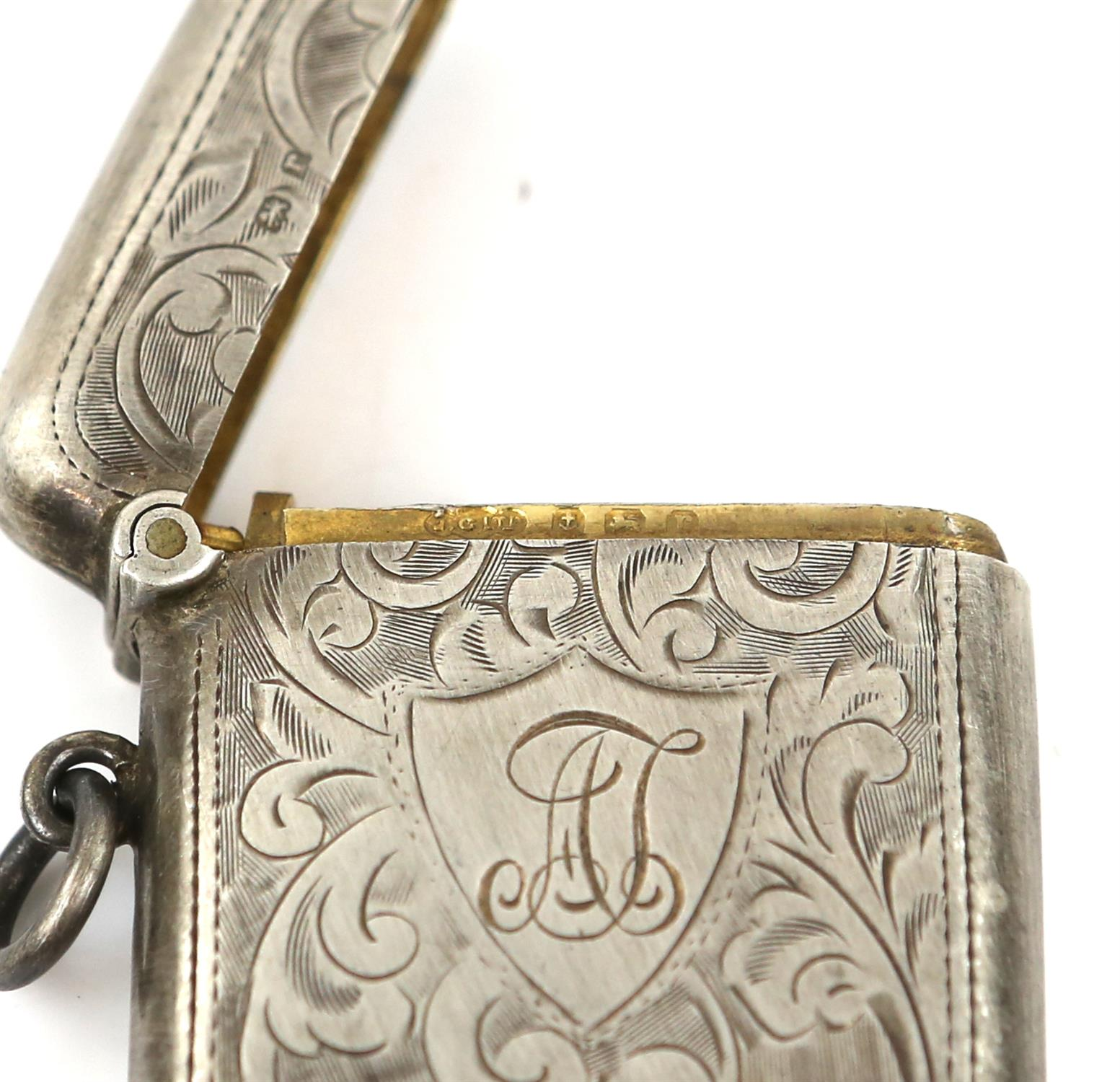 American sterling silver pepperette with floral embossed ddecoration, marked Sterling, - Image 12 of 18