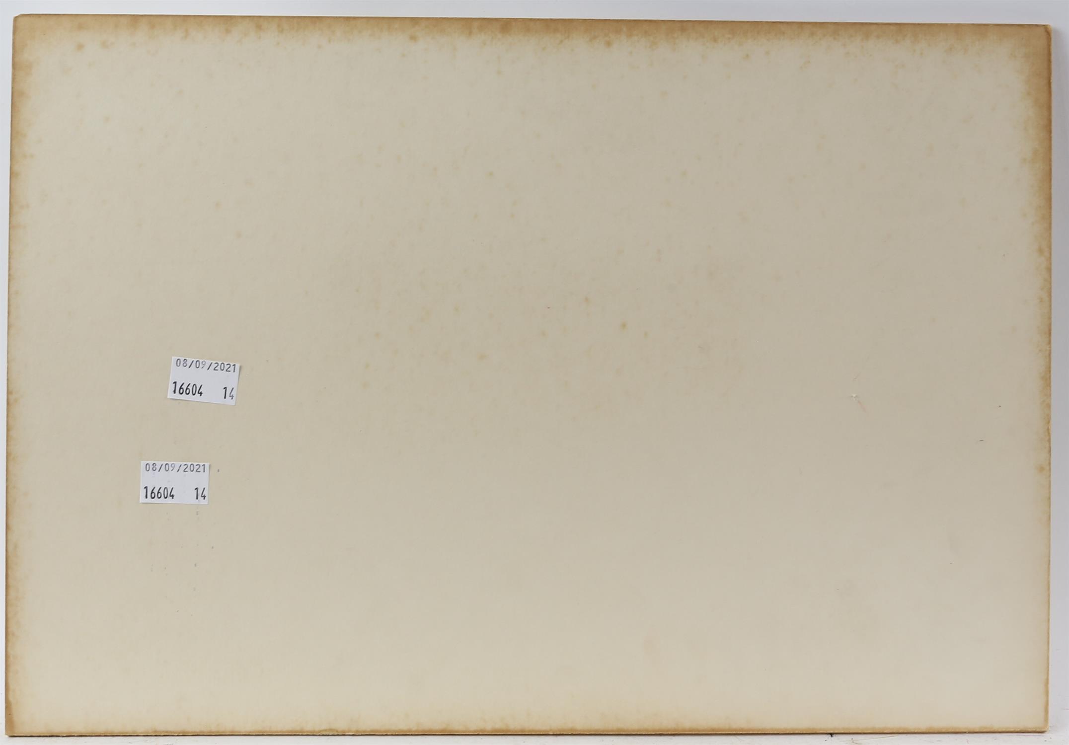 AMENDED DESCRIPTION and ESTIMATE Vincenzo Desposito (Maltese 20th century), scene of Valetta - Image 4 of 4
