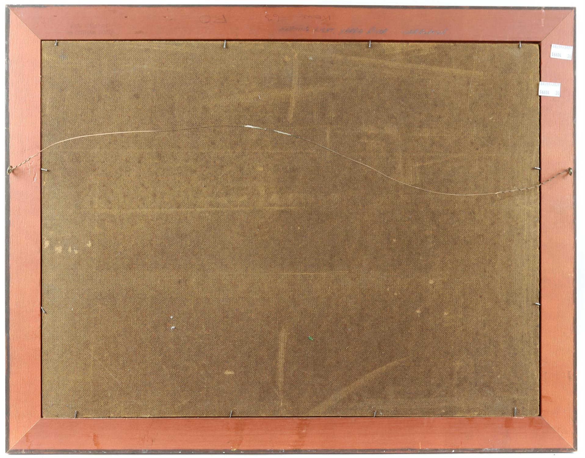 Gerard Mutsaers (Australian b. 1947), 'Morning Light, Yarra River, Warburton', signed, oil on board, - Image 3 of 4