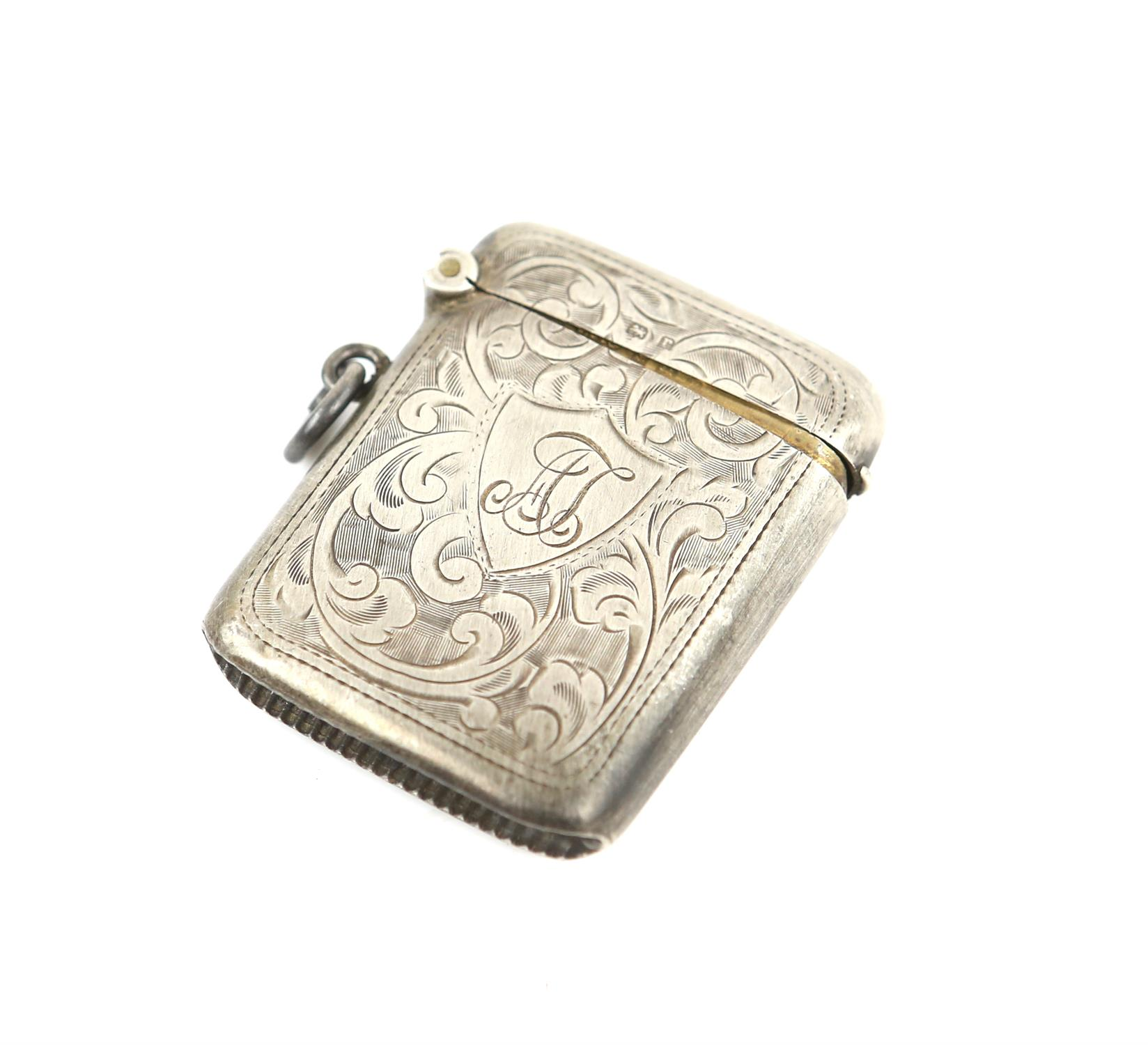American sterling silver pepperette with floral embossed ddecoration, marked Sterling, - Image 11 of 18