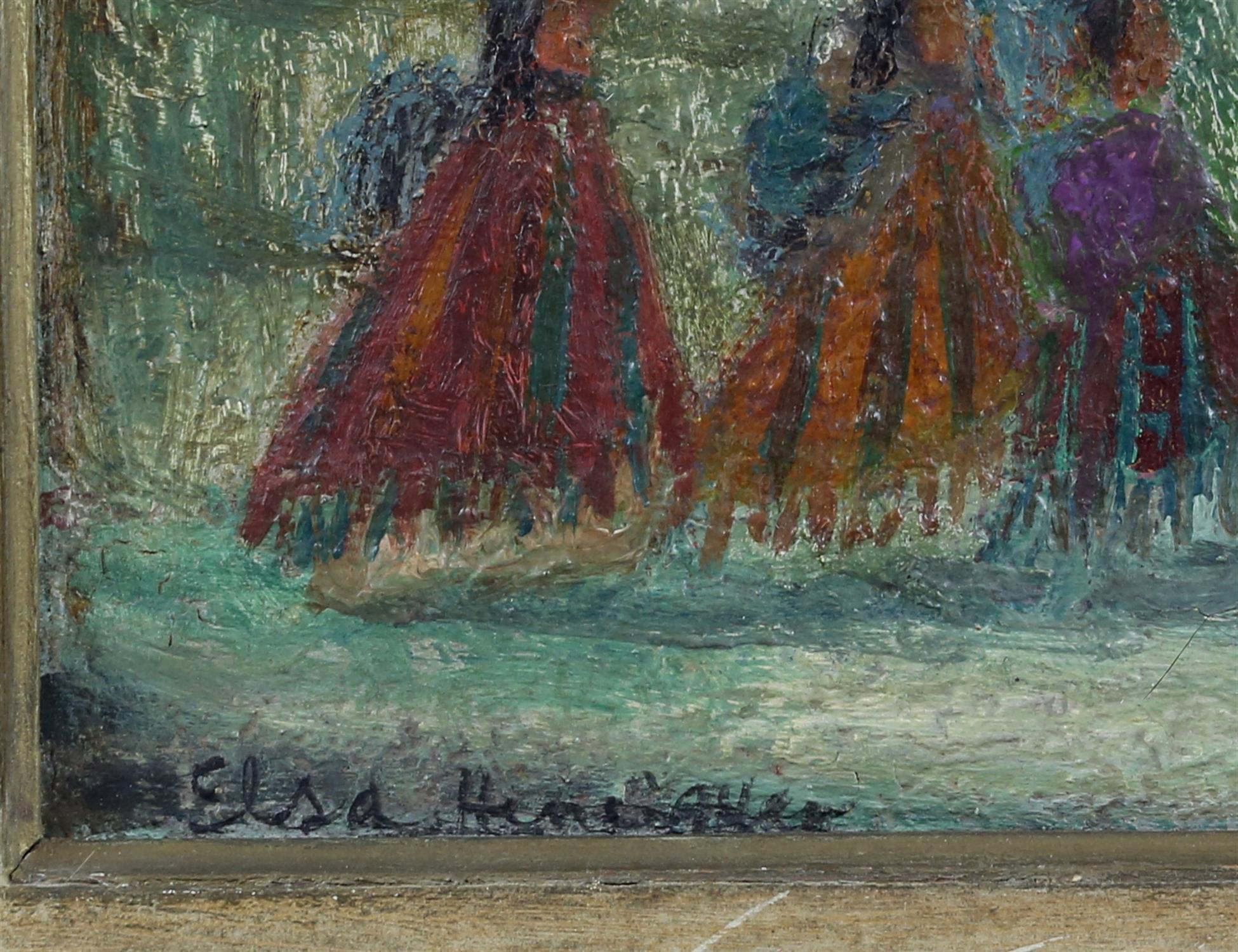 AMENDED DESCRIPTION and ESTIMATE Elsa Henriquez, (Argentinian b. 1932), 'The Wailing Wall, - Image 3 of 4
