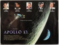 24 British Quad film posters (1990's-2000's), including Apollo 13, Universal Soldier,