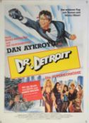 Two Dr Detroit (1983) German cinema posters, with Chantrell poster illustration, both rolled,