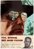 Cool Hand Luke (1967) Italian Photobusta film poster, starring Paul Newman, single fold,