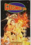 Space 1999 (1975) French Serie Culte poster, rolled, 23 ½ x 16 inches.