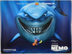 Finding Nemo (2002) Two Teaser film posters, British Quad & US One Sheet, both rolled,