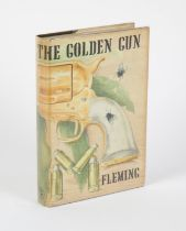James Bond - Ian Fleming 1st Edition book for The Man With The Golden Gun (1965),