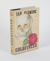 James Bond - Ian Fleming 1st Edition book for Goldfinger (1959) published by Jonathan Cape and with