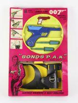 James Bond 007. Multiple Toymakers Bond's P.A.K. (Personal Attack Kit), 1966. Includes dart gun