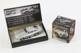 James Bond - Scalextric limited edition Goldfinger Aston Martin, boxed.