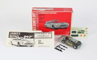 James Bond 007 - Strombecker Raceways James Bond's Aston Martin 1:32 scale motorised slot car,