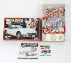 James Bond 007 Doyusha Toyota 2000GT Model Kit - a highly detailed and increasingly rare example of