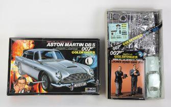 James Bond 007 Doyusha Aston Martin DB5 Model Kit from Goldfinger - highly detailed and rare 1:24