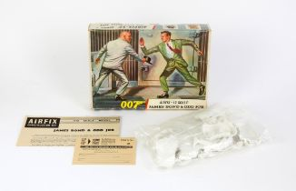 James Bond 007 - Airfix James Bond & Odd Job 1:12 scale plastic model kit, from 'Goldfinger'.