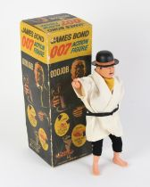 James Bond - 1965 Gilbert Oddjob Figure from Goldfinger, 16012, this rare action figure comes with