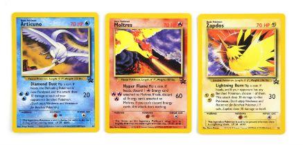 Pokemon. Legendary Birds Black Star promos: Articuno (22)
