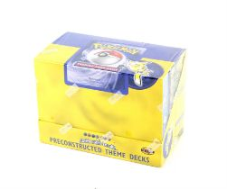 Pokemon TCG Base Set Preconstructed Theme Deck, sealed display / brick. Contains eight sealed Theme