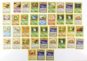 Pokemon TCG. Pokemon Jungle 39 card bundle. Including 29 commons, 7 uncommons & 3 Non Holo Rares,