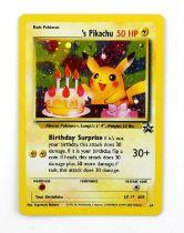 Pokemon TCG. Birthday Pikachu. Black Star Promo 24 holo card.