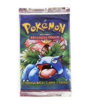 Pokemon TCG sealed Base Set Booster pack, Venasuar artwork. The vendor formerly owned a gift shop