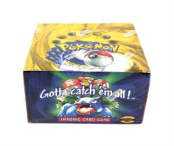 Pokemon TCG. Sealed Base Set Booster box. Unlimited. Sealed in WOTC original shrink wrap (contains