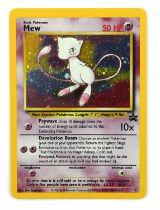 Pokemon TCG. Mew Black Star promo 9 holo card.