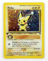 Pokemon TCG. Pichu holo card. 1st Edition Neo Genesis.