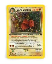 Pokemon. Team Rocket Expansion 1st edition Dark Dugtrio