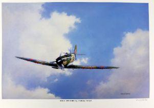 Anthony Hedges (twentieth century), large quantity of approximately 50 'Solo Spitfire' prints.