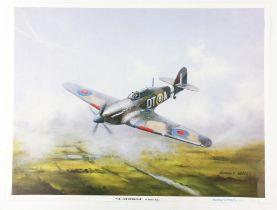 Anthony Hedges (twentieth century), large quantity of over 50 'The Last Hurricane' prints.