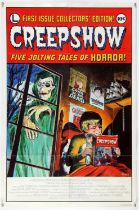 Creepshow (1982) US One Sheet film poster, Advance style, folded, 27 x 41 inches (2).