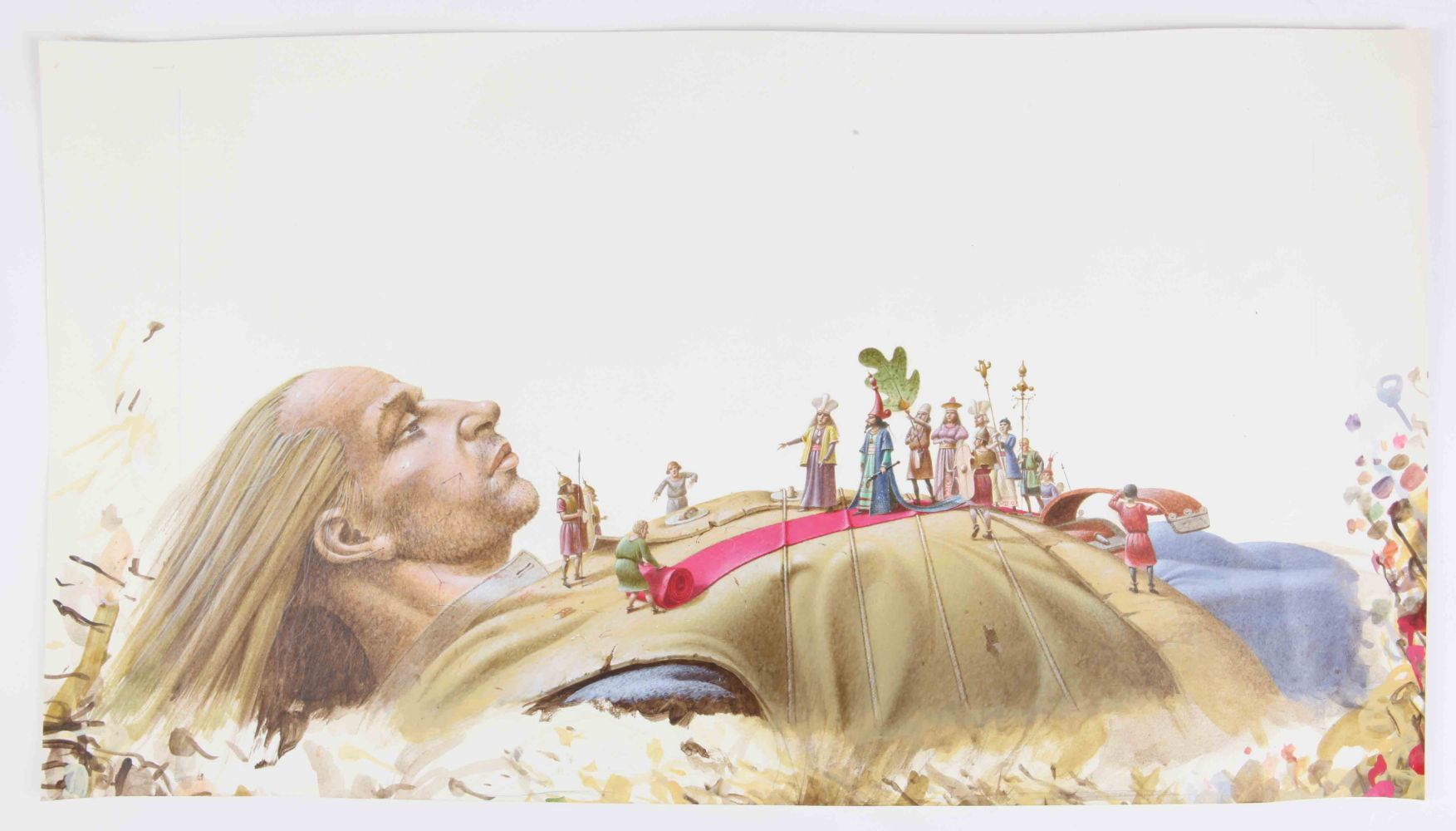 The Paul Birkbeck Collection. Works by the renowned illustrator for BBC programmes including Jackanory