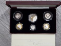 UK SILVER PROOF 2006 PIEDFORT FAMILY COLLECTION