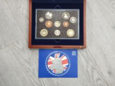ROYAL MINT UK 2004 EXECUTIVE PROOF SET COMPLETE IN ORIGINAL CASE WITH CERTIFICATE