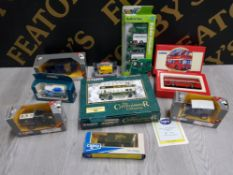 COLLECTION OF CORGI DIECAST VEHICLES ALL IN ORIGINAL BOX