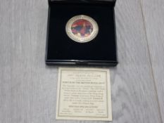 ROYAL MINT 1997 TRADE COIN WITH CERTIFICATE