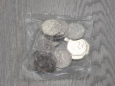 MINT SEALED BAG OF PETER RABBIT 50 PENCE PIECES