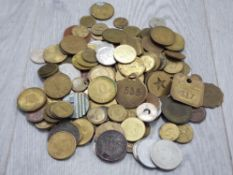 WORLDWIDE MIXED COINAGE AND TOKENS