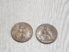 1950 AND 1951 PENNIES