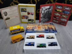 COLLECTION OF DIECAST VEHICLES INCLUDES WEETABIX, CAMEO, MATCHBOX AND LLEDO KELLOGG'S RICE KRISPIES