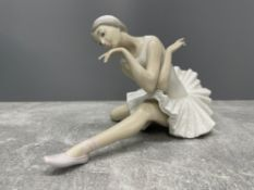 LLADRO 4855 DEATH OF THE SWAN IN ORIGINAL BOX