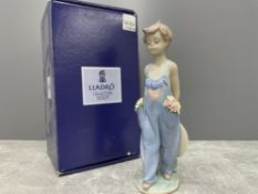 LLADRO 7650 POCKET FULL OF WISHES IN ORIGINAL BOX