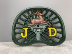 CAST JOHN DEERE TRACTOR SEAT