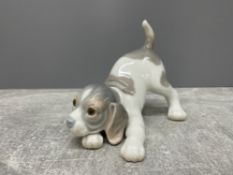 LLADRO 1070 PLAYFUL PUPPY