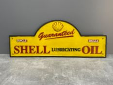 CAST SHELL LUBRICATING OIL SIGN