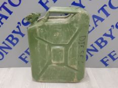 20L JERRY CAN IN GREEN